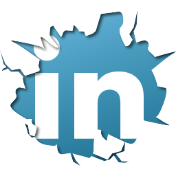 linkedin Logo crash